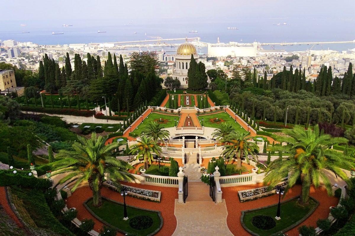 Imagini pentru gradina bahai israel