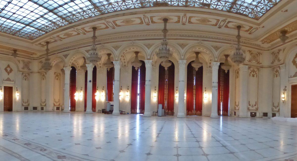 interior casa poporului
